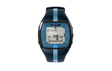 Polar FT40 Cardiofréquencemètre bleu
